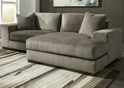 Bornem kanapé, plüss, modern