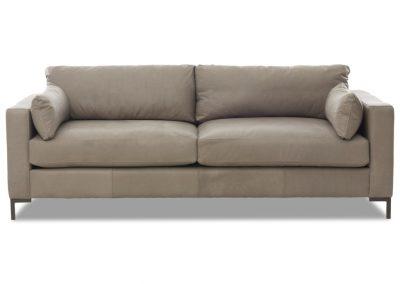 Brecht kanapé, bőr, modern
