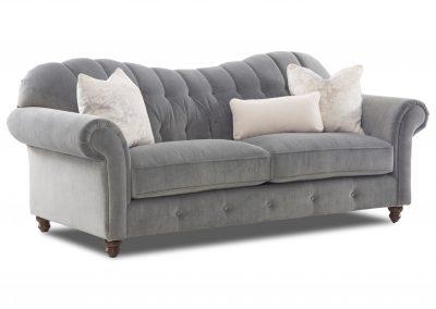 Galway kanapé, bársony, klasszikus