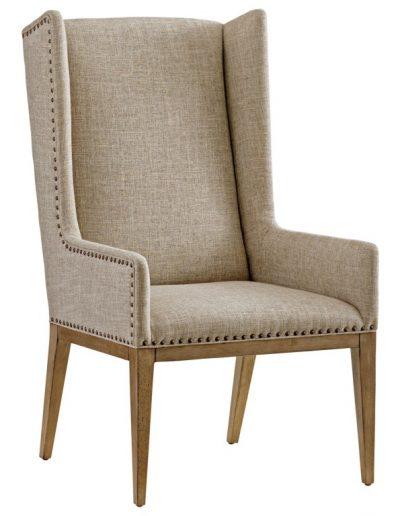 Jasper szék egyedi tervezés gyártás hagyományos art deco elegáns kényelmes füles karfás szövet drapp faláb