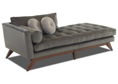Trend Landers sezlony egyedi tervezés gyártás hagyományos elegáns kényelmes puha bársony mélytűzött faláb