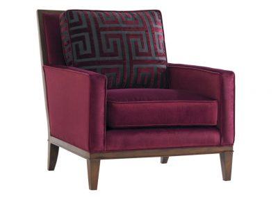 Marken fotel, bársony, modern