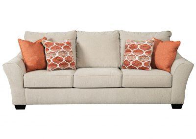 Tradicionális Pittsburgh kanapé egyedi tervezés gyártás hagyományos elegáns puha szövet törtfehér párna választható faláb