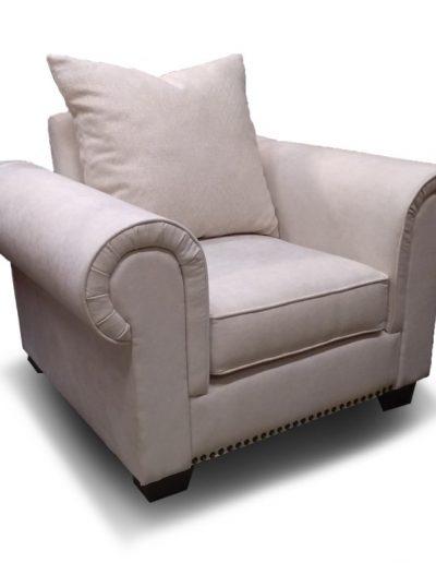 Natúr klasszikus fotel