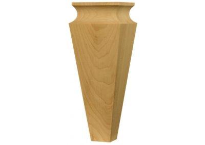 fa láb kanapé fotel pác lazúr selyemfényű fényes magasfényű választható egyedi kúp 25cm
